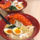We couldn't hold back checking this out when we saw them offering a superior lobster ramen.