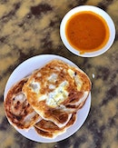 Certainly a great option while Chinese food stalls would be closed over the CNY period, especially when these pratas were crispy good.