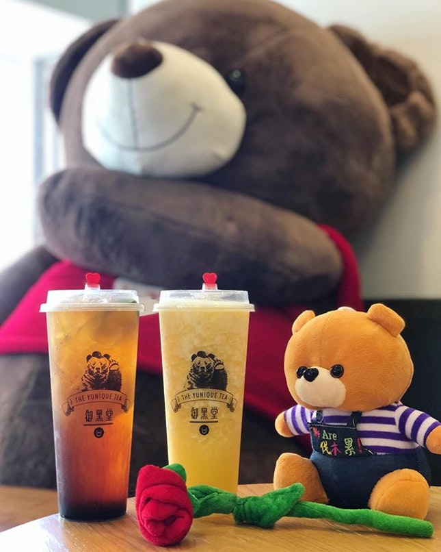 So how many bubble tea are there in TPY Central with Taiwan Yunique Tea now also joining the league?
