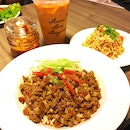 Minced Pork La Mian Set