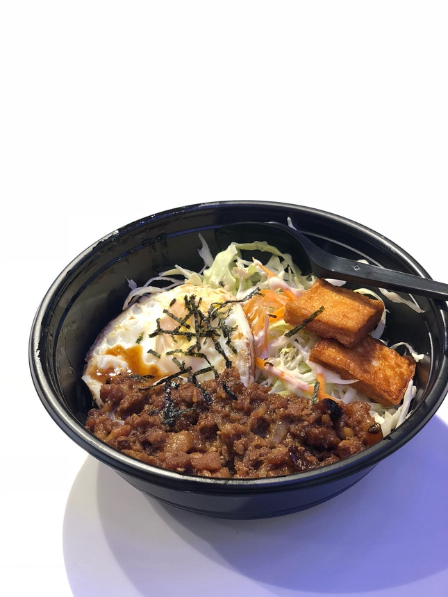 Braised Pork Rice Bowl