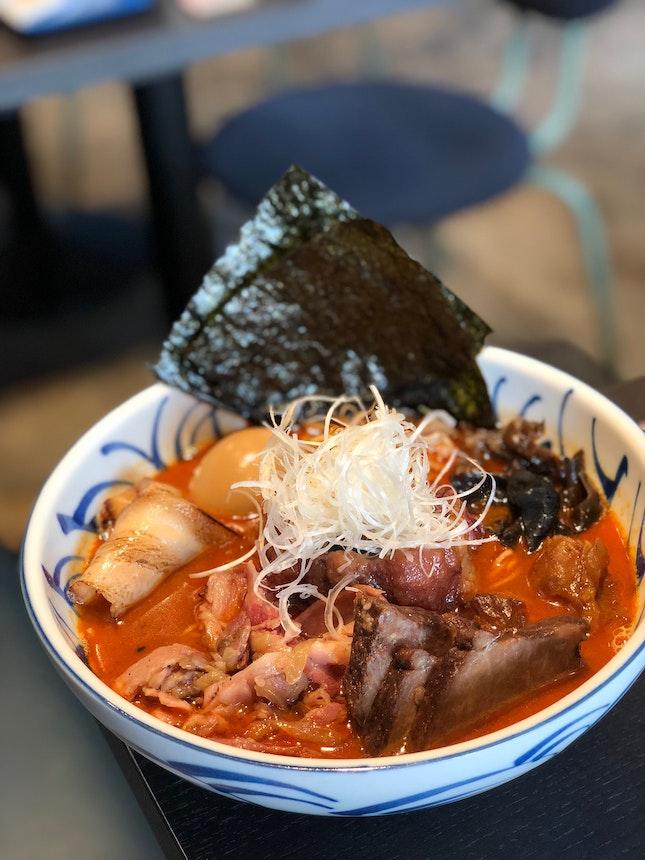 Spicy Miso Sumo Ramen