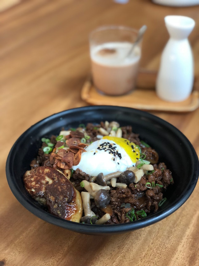 """""""The Epic"""" Beef Gyudon with Foie Gras"""