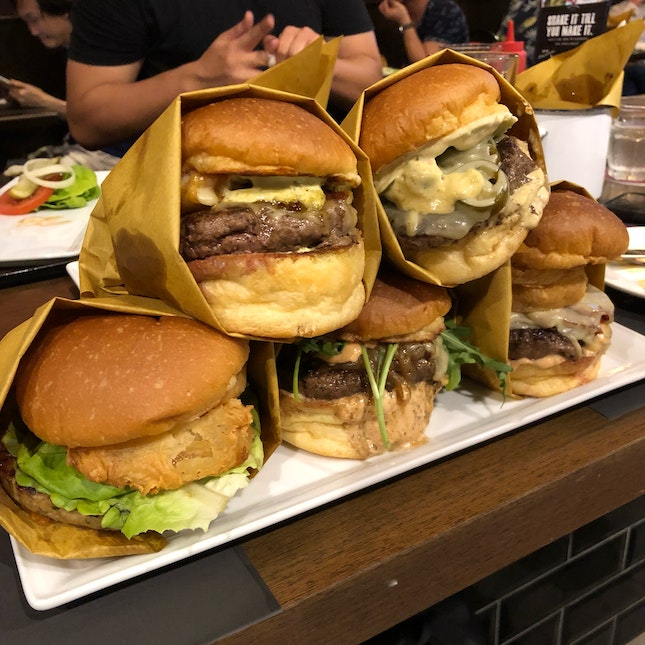 Number One to Five Burgers