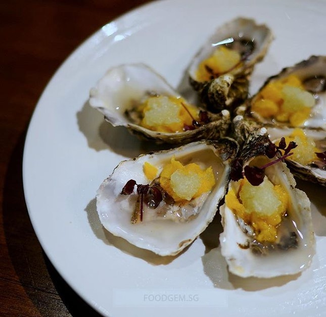 Chase your Irish Premium Oysters with bracing mixtures of Cucumber, Hendricks Gin and Diced Orange.
