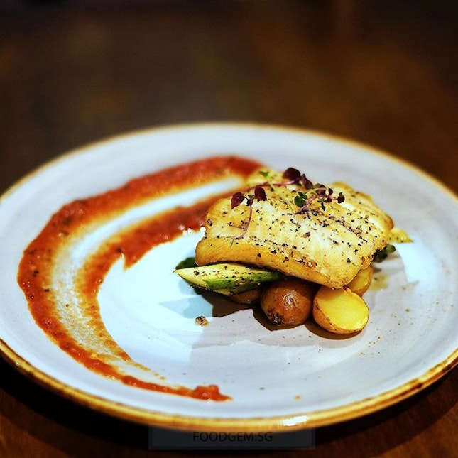 The snow-white halibut is firm and its fresh tasted subtly sweet, and will almost melt in your mouth.