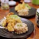 Salted Egg Tempura & Garlic Fried Rice is one of the new items on the menu.