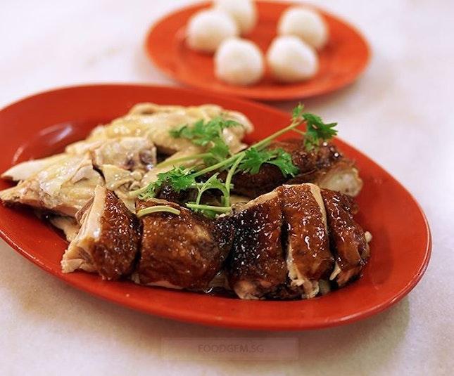 Order half chicken and gotten drum stick, wing and chicken breast.
