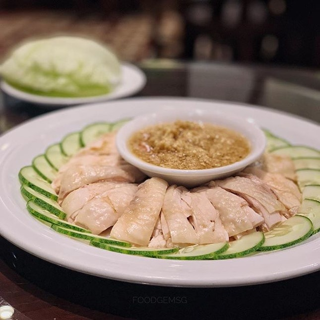 Love their Signature ginger sauce more than the chicken meat.