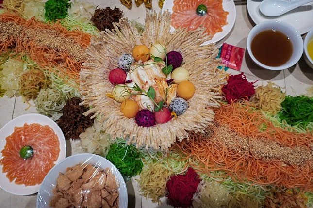 From 10 January, Ellenborough Market Café will be having a bountiful Prosperity Buffet feast for those whom would like to celebrate the Year of the Rat early.