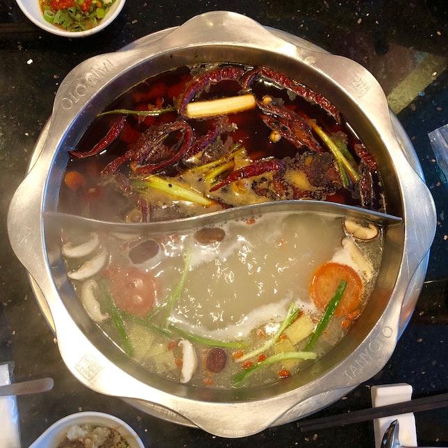 Ma La & Fish Soup
