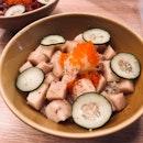 truffle swordfish don