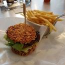 Teriyaki Ramen Burger