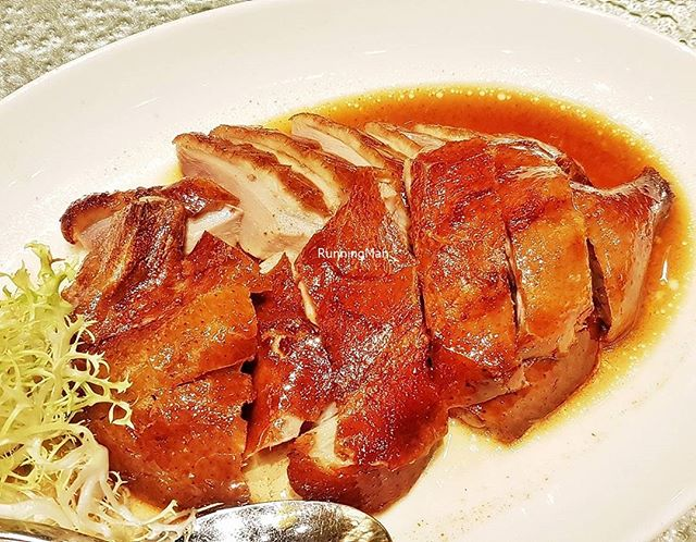 Roast London Duck (SGD $38 Half / $72 Full) @ Shisen Hanten.