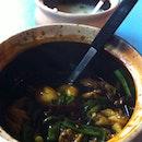 Dried Chilli Frog Leg Porridge