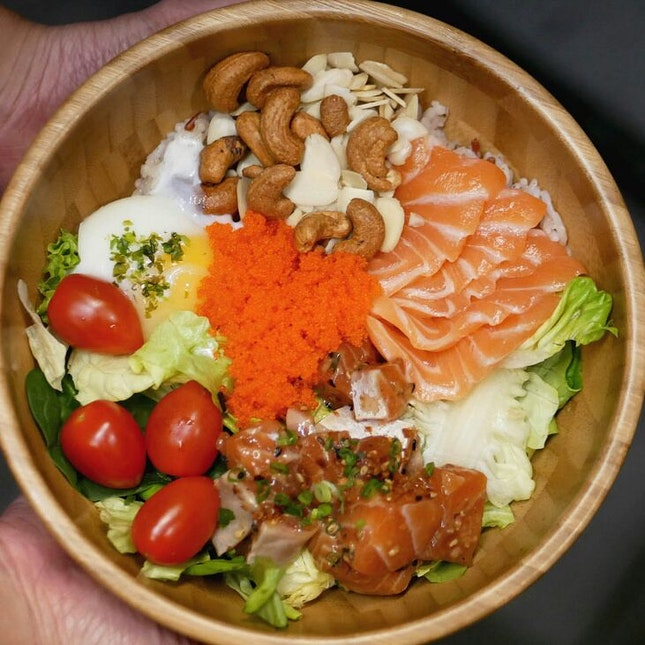 $9.90 Customizable Salmon Donburi in CBD