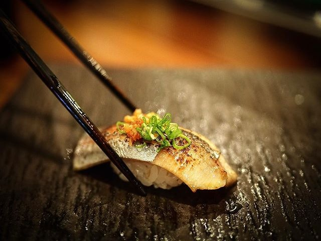 🍣🍶 (Part of our Omakase dinner $180++) #goodfoodgoodlife .