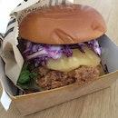 Buttermilk Crispy Chicken Burger