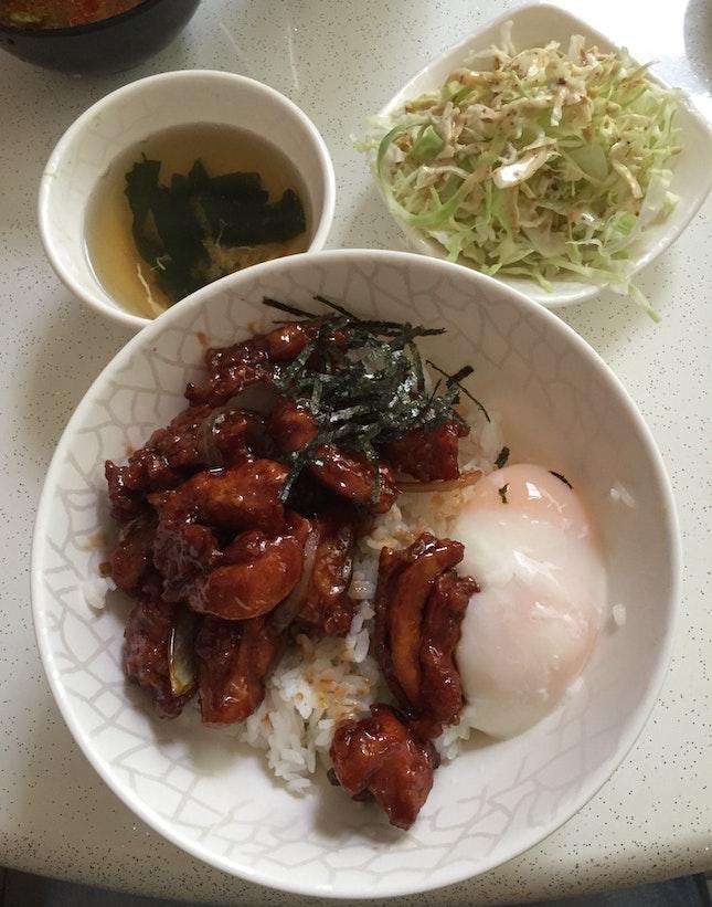 Chicken Teriyaki Set