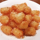 Most innocent looking truffle tater tots ever!
