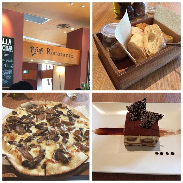 Funghi misti Pizza And Tiramisu