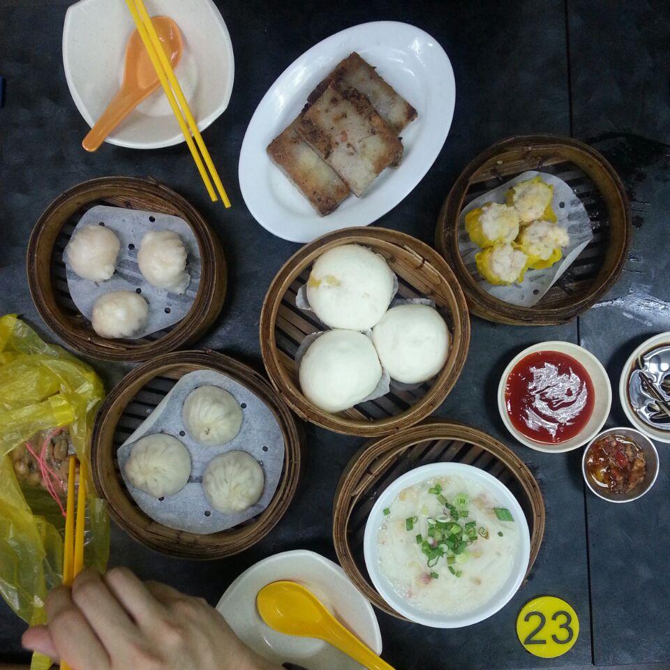 Har Kow ($5.20) + Siew Mai ($4.80) + Carrot Cake ($4.80) + Liu Sha Bao ($4.80) + XLB ($5.20) + [Not In Pic] Glutinuous Rice ($5.80)