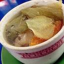 Salted Veg Duck Soup