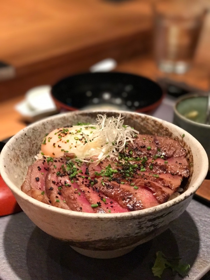 Fat Cow Donburi ($45)