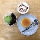 Cotton cheesecake (RM13.90), Kuromitsu coffee (RM13.90), Ujikintok (RM16.90)  Rate: 3/5 Shop: Miyakori Coffee Address: Lot J5-10 level 5 106-108, Jalan Wong Ah Fook, 80000 Johor Bahru (City Square outlet)
