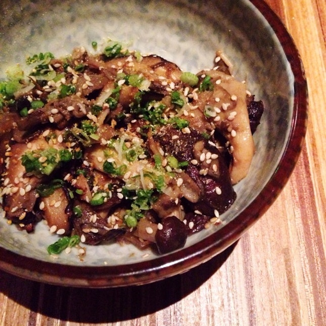 Butter Braised Mushrooms ($10)