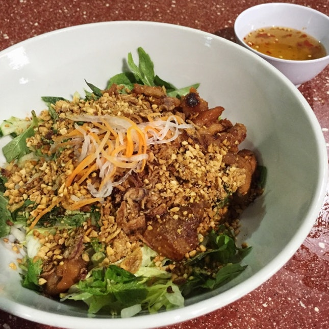 Pork Vermicelli ($6, Bun Thit Nuong)