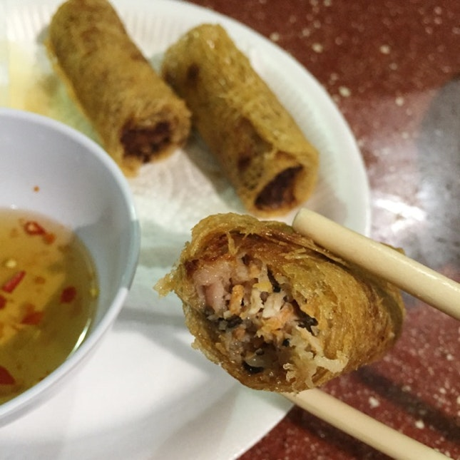 Fried Spring Rolls ($4 for 3, Cha Gio Chien)
