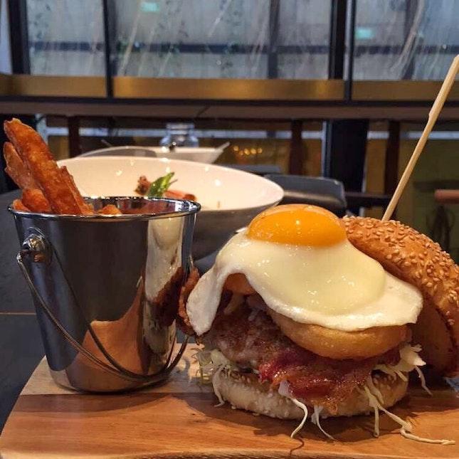 NIDO Homemade Pork Burger ($18.90)