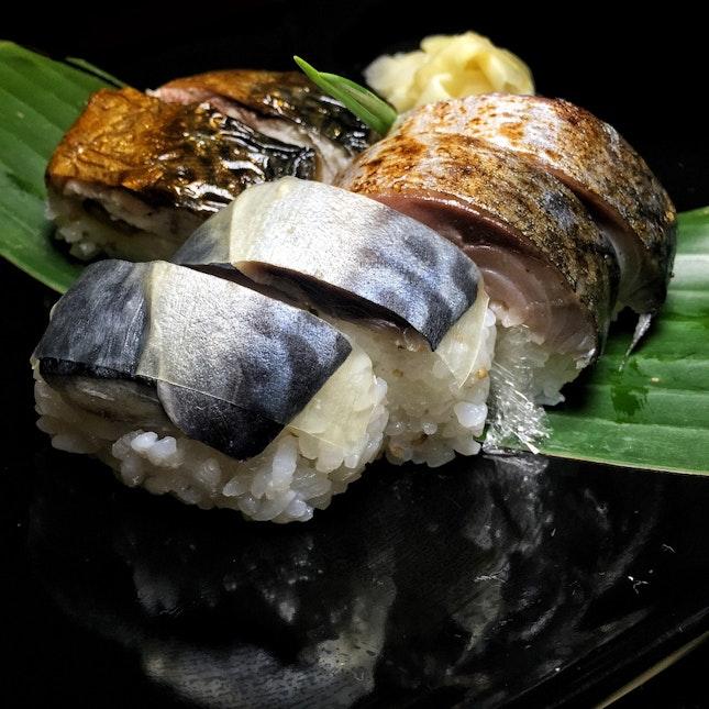Sabar's Sushi Teishoku ($25, lunch set)