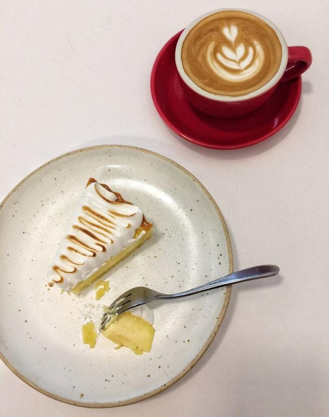 Lemon Tart & Flat White (RM11)