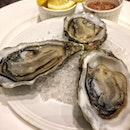Marennes d'Oléron Oysters( $16.50 for three   Tapas Menu)