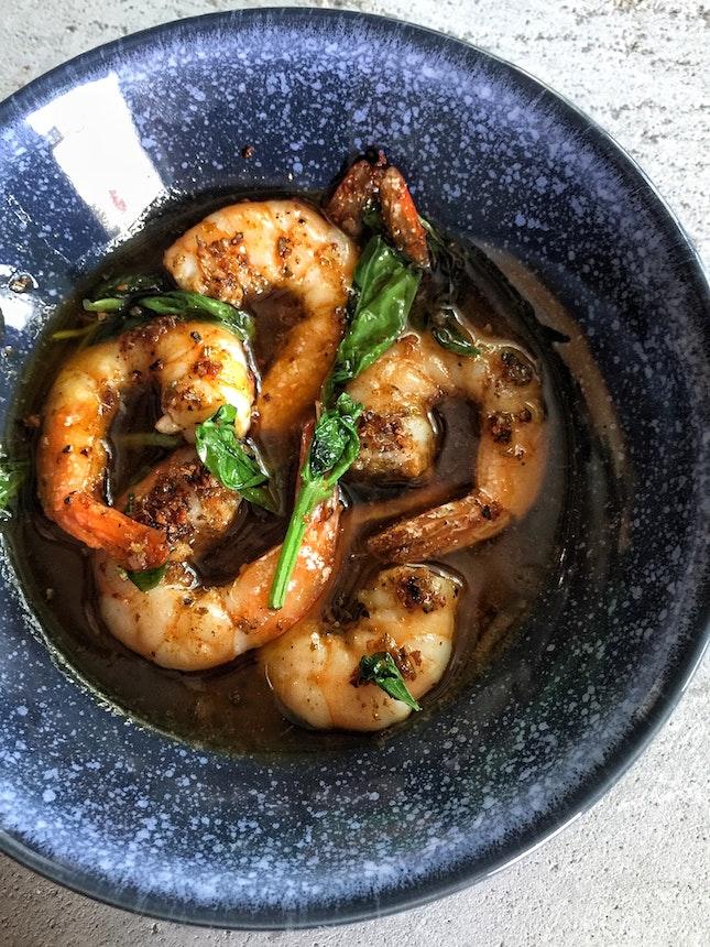 Garlic Shrimps ($12)