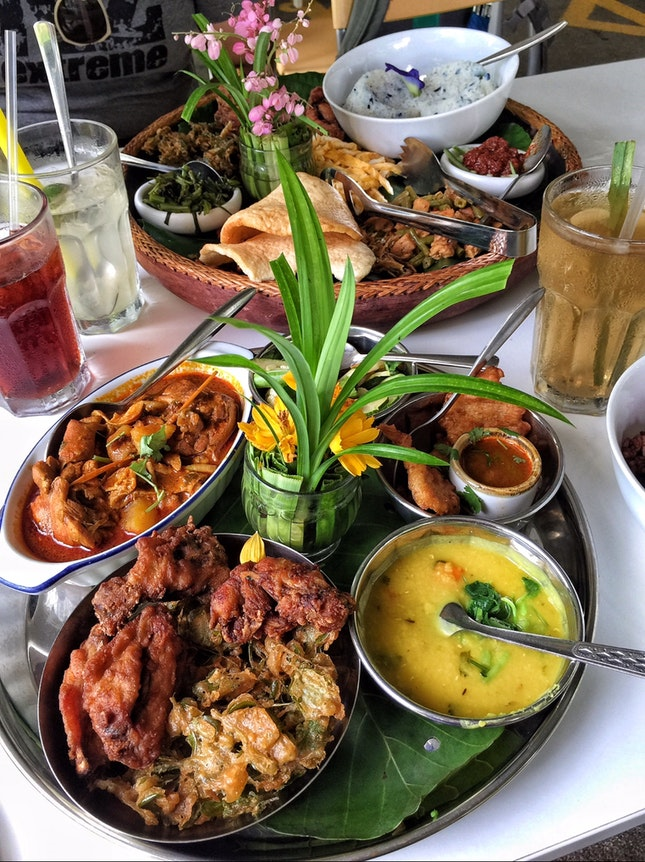 Warrior's Platter ($22 for 2) &  Nasi Lemak Platter ($12/20/40 for 1/2/4)