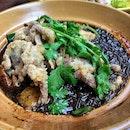 Black Pepper Glass Noodles ($25)