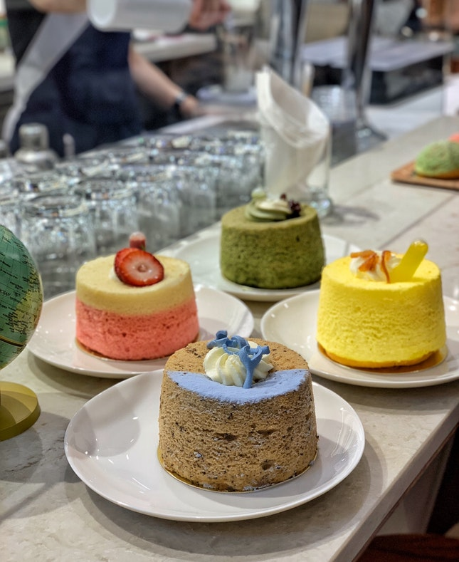 Chiffon Cakes ($6.80 each)