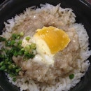 Minced Meat & Salted Egg Steamed Rice