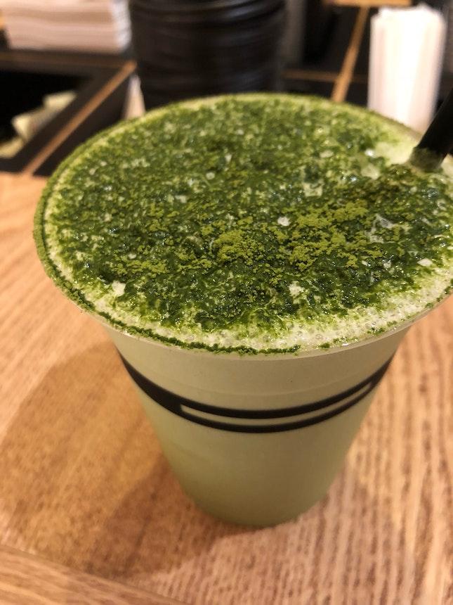 Iced Matcha Cappuccino