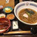 Donburi + Soba Set Meal