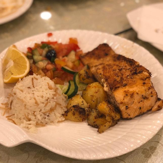 Salmon Grill