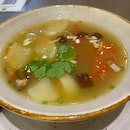 Salted Vegetables Duck Soup