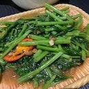 Thai Style Stir Fried Kangkong