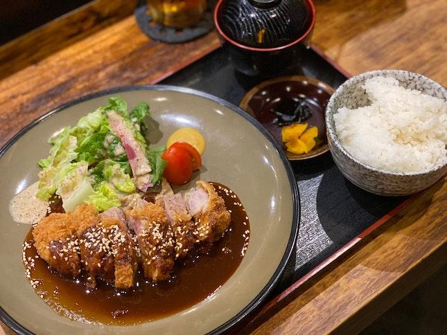 Miso Katsu Pork Set