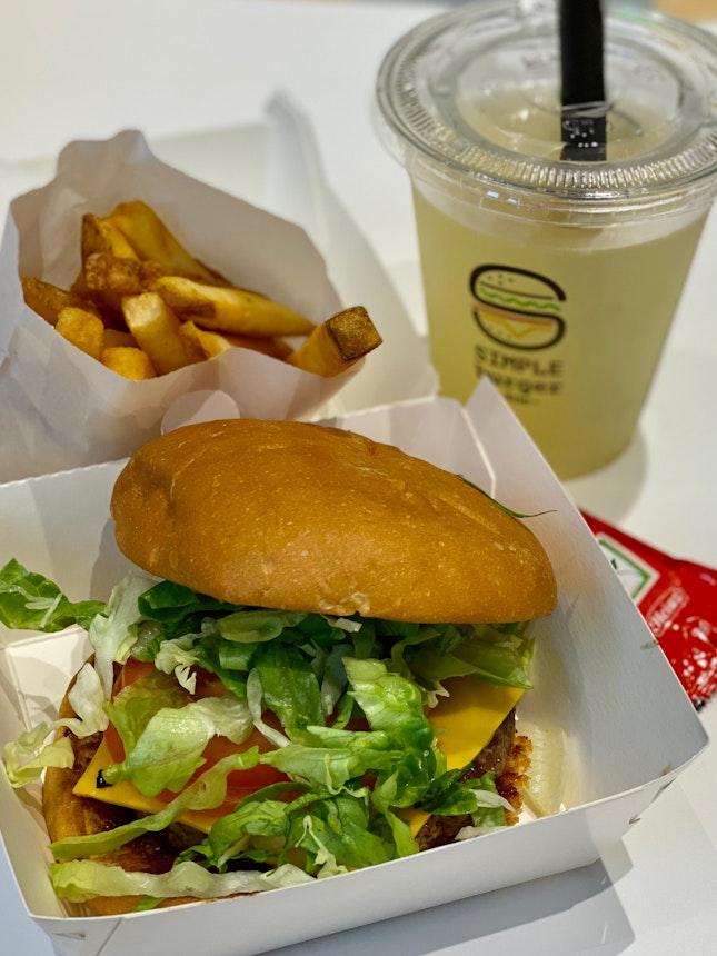 Natural Beef Burger Set