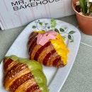 Matcha & YellowPink Croissants