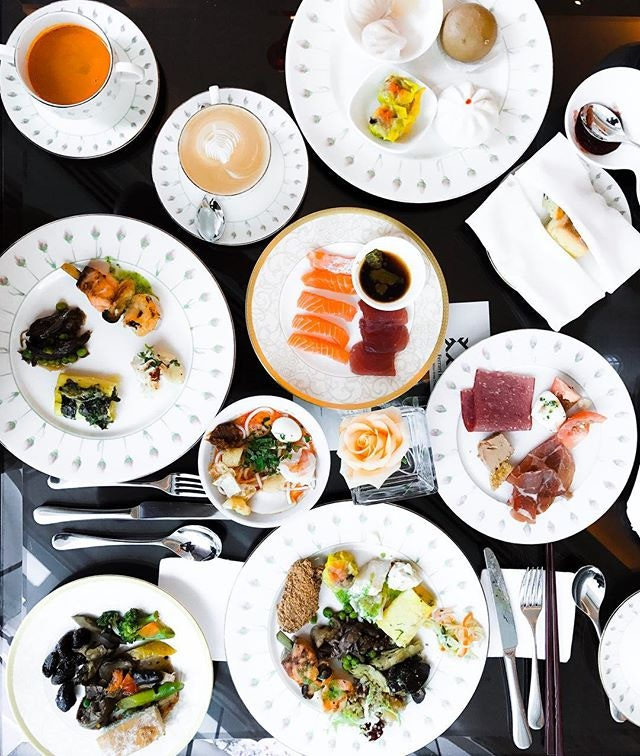 The Rose Veranda - High Tea Buffet (💵S$55++) - Savoury - 🍖 • ACAMASEATS & TIPS💮: The Savoury assortment is not as varied & deep as compared to the more well known The Line.